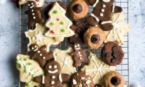15 Healthy Christmas Cookies – The Banana Diaries – Healthy Xmas Baking Recipes