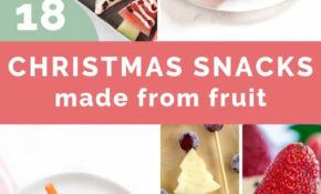 15 Healthy Christmas Snacks For Kids – Healthy Litttle Foodies – Healthy Xmas Baking Recipes