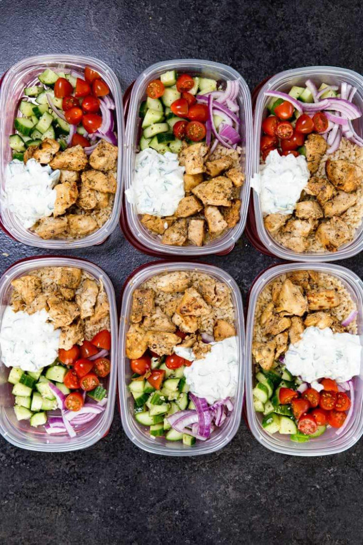 15 Healthy Dinners You Can Meal Prep on Sunday | The Everygirl - dinner recipes meal prep