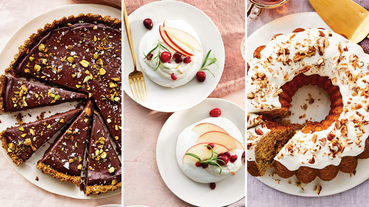15 Healthy Holiday Desserts - Health - healthy xmas dessert recipes