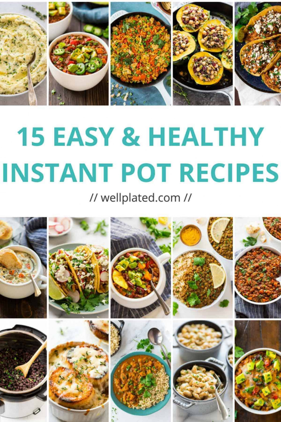 15 Healthy Instant Pot Recipes That Anyone Can Make - instant pot recipes healthy dinner