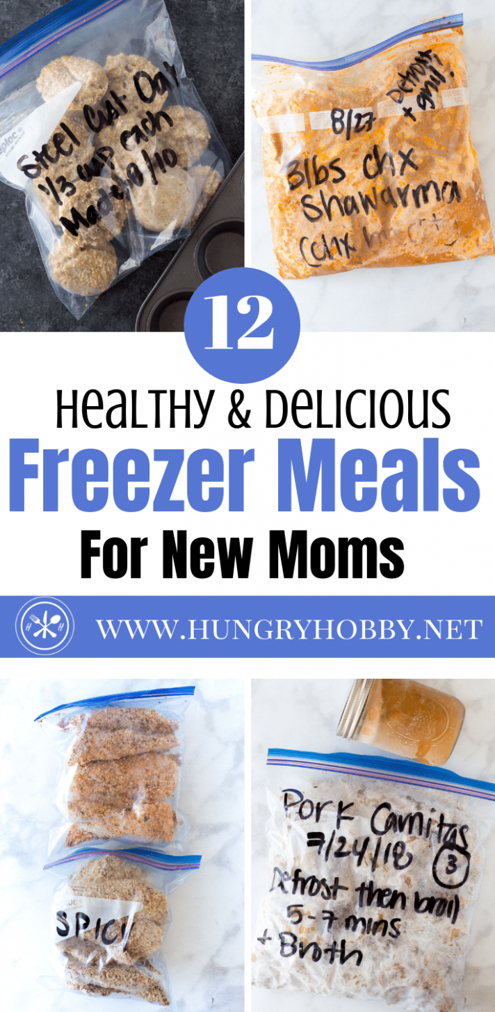 15 Healthy Make Ahead Freezer Meals For New Moms (or Anyone)! - healthy recipes you can freeze