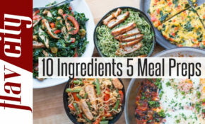 15 Healthy Meal Prep Recipes For Weight Loss | FlavCity – Healthy Dinner Recipes To Lose Weight