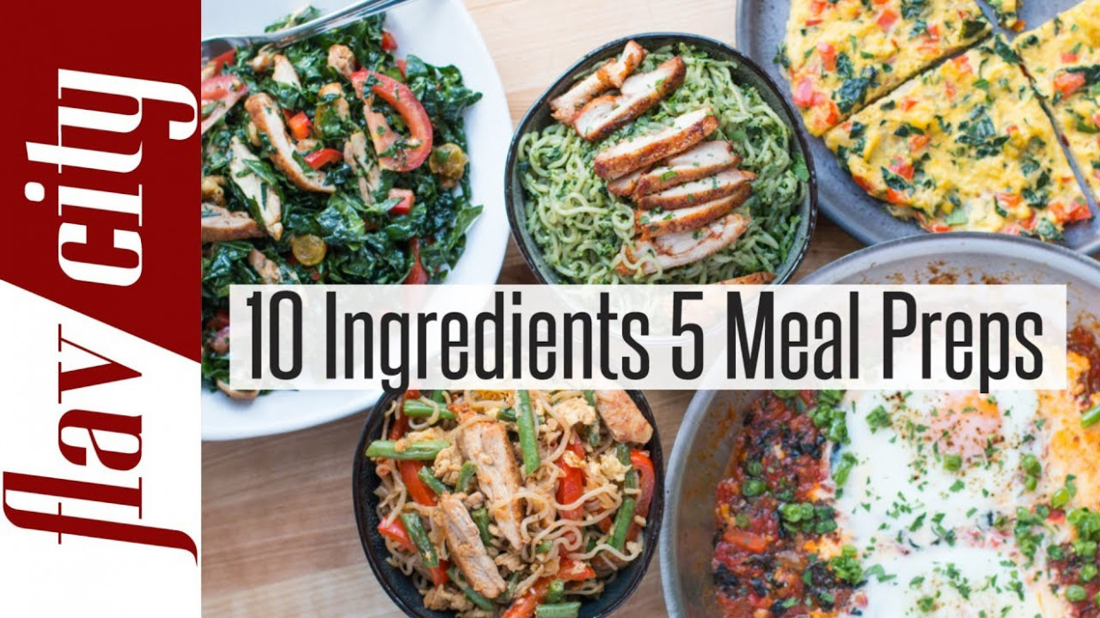 15 Healthy Meal Prep Recipes For Weight Loss | FlavCity - healthy dinner recipes to lose weight