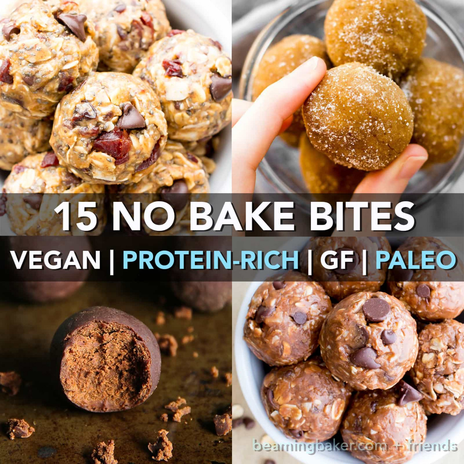 15 Healthy Protein Packed No Bake Energy Bite Recipes ..