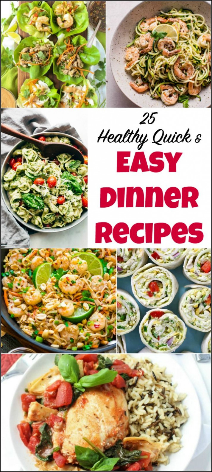 15 Healthy Quick and Easy Dinner Recipes | Easy Healthy ..