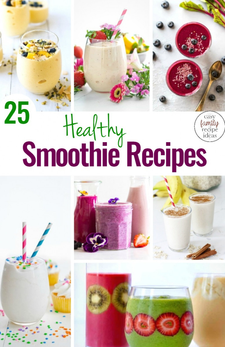 15 Healthy Smoothie Recipes Everyone Will Want to Drink ..