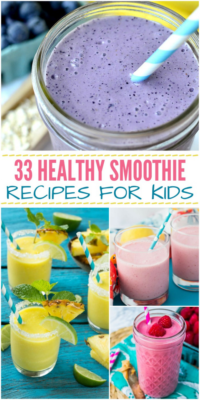 15 Healthy Smoothie Recipes For Kids - Recipes For Healthy Smoothies