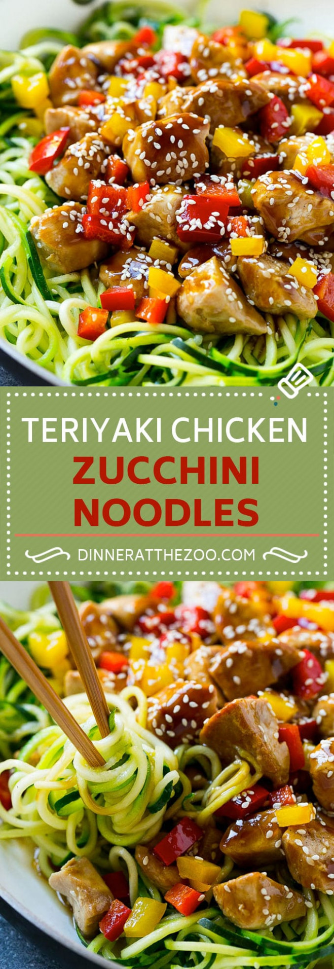 15 Healthy Zoodle (Zucchini Noodle) Recipes - Dinner at the Zoo - dinner recipes with zoodles