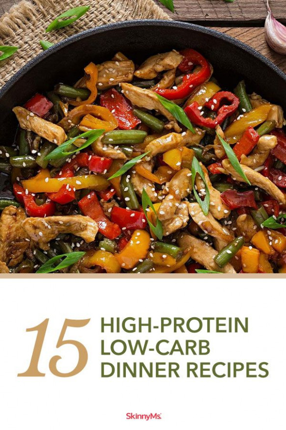 15 High Protein Low Carb Dinner Recipes | Skinny Ms. Eats ..