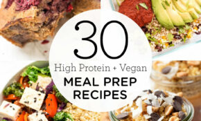 15 High Protein Vegan Meal Prep Recipes – Simply Quinoa – Recipes Vegetarian Meal Prep