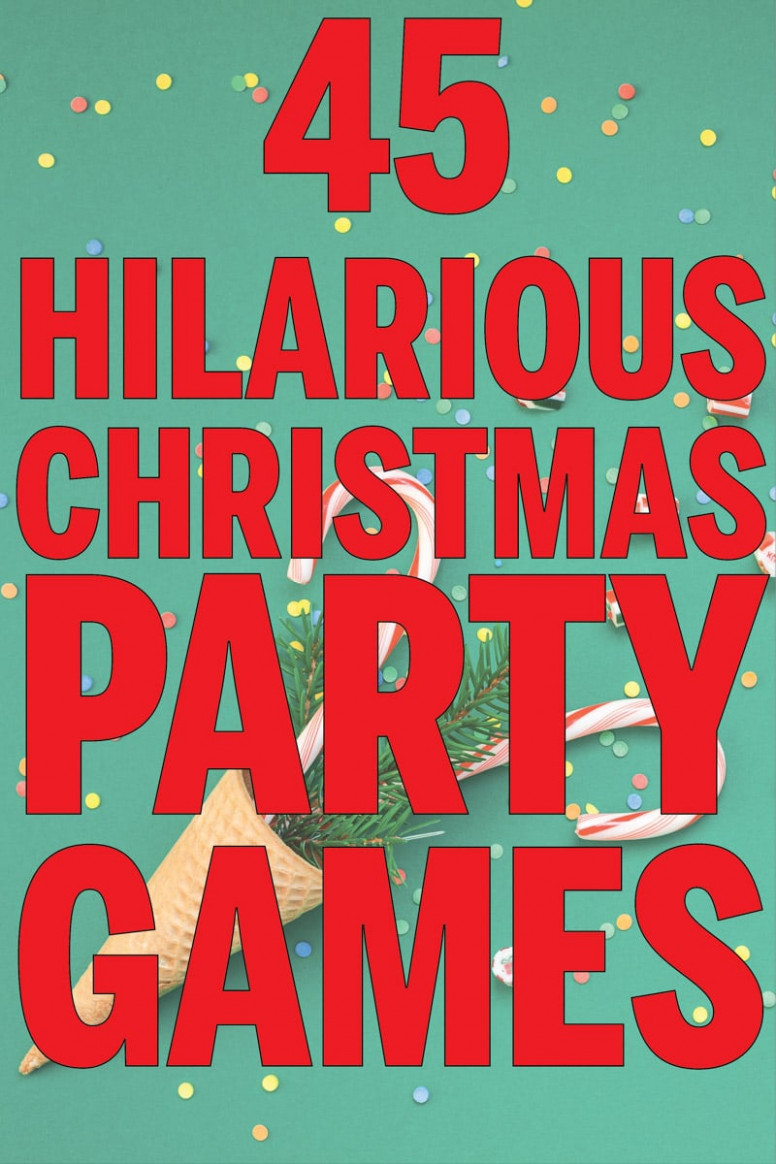 15 Hilarious Christmas Party Games You Have to Try - Play ..