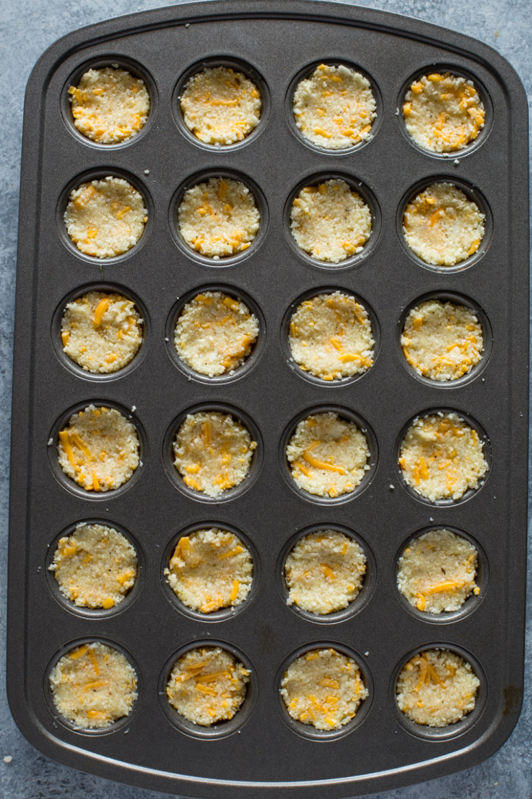 15 ingredient Baked Cheddar Cauliflower Bites - recipes pre dinner nibbles