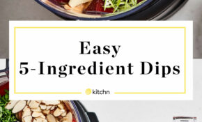 15 Ingredient Food Processor Party Dips | Kitchn – Recipes In Food Processor
