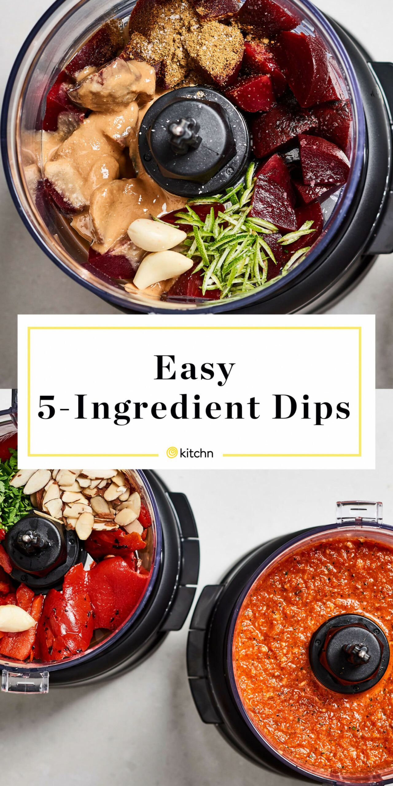 15 Ingredient Food Processor Party Dips | Kitchn - Recipes In Food Processor