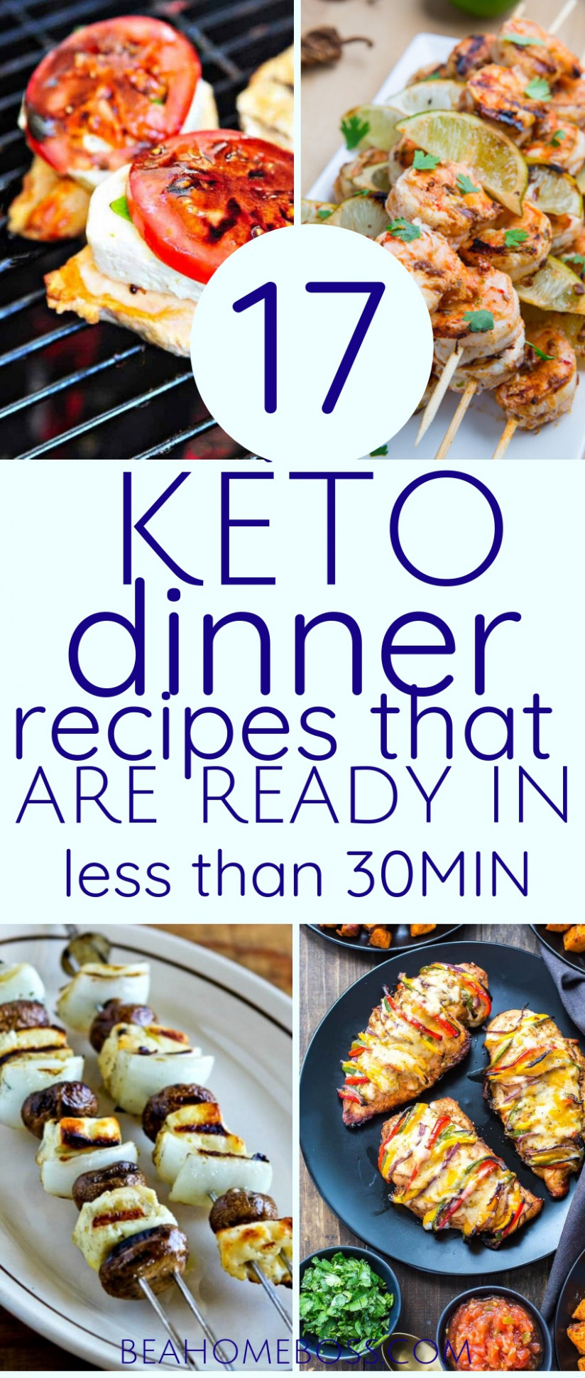 15+ Keto Dinner Ideas Made in 15 Minutes or Less (Updated ..