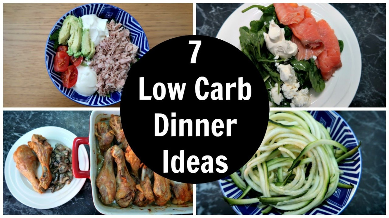 15 Low Carb Dinner Ideas - A Week Of Easy Keto Diet Dinner Recipes - Recipes Carb Free Dinner