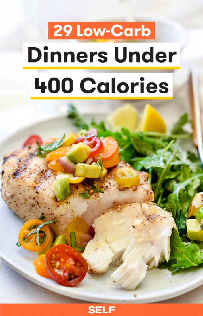 15 Low-Carb Dinners Under 15 Calories | SELF - quick and easy low carb dinner recipes