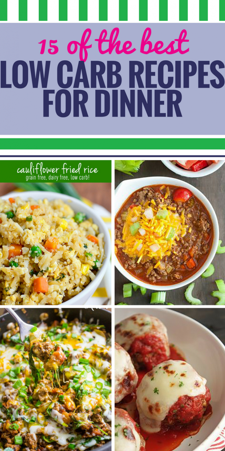 15 Low Carb Recipes for Dinner - My Life and Kids - atkins recipes dinner