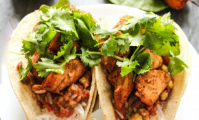 15 Minute Cajun Chicken Tacos With Sweet & Spicy Tomato Salsa – Taco Recipes Chicken