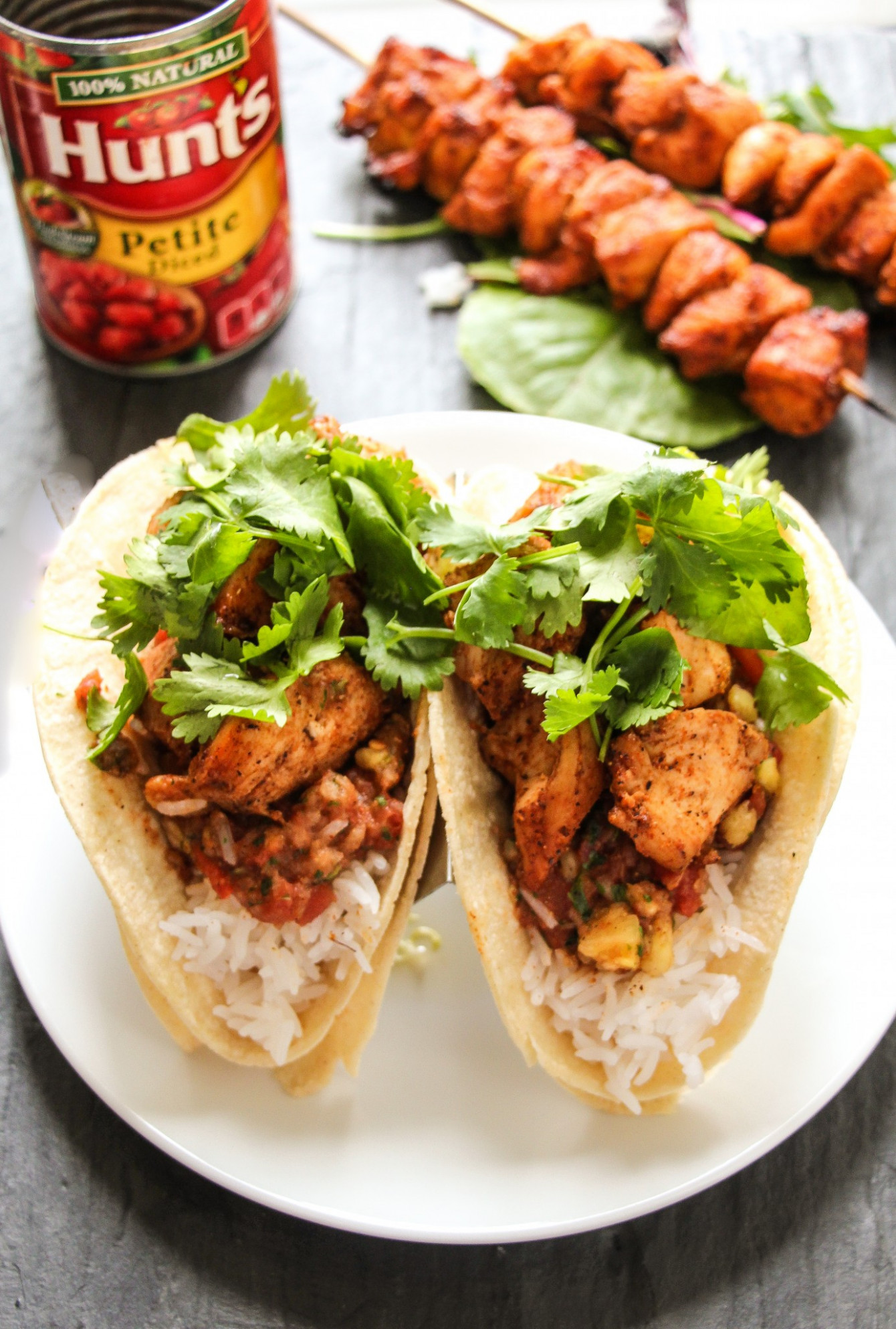 15-Minute Cajun Chicken Tacos with Sweet & Spicy Tomato Salsa - taco recipes chicken