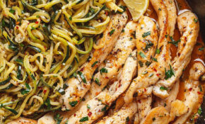 15 Minute Cowboy Butter Chicken With Zucchini Noodles ..