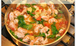15 Minute Easy Mediterranean Shrimp  Valerie Hoff – Healthy Recipes With Shrimp
