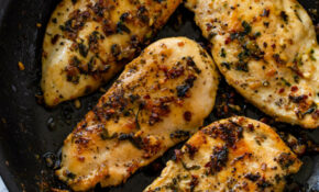 15 Minute Garlic Butter Chicken (Keto) – Recipes Thin Sliced Chicken Breast
