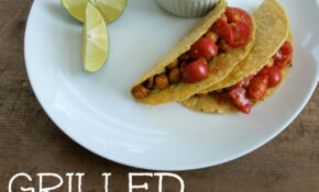 15 Minute Grilled Chickpea Tacos – Happy Healthy Mama – Vegetarian Recipes On The Grill