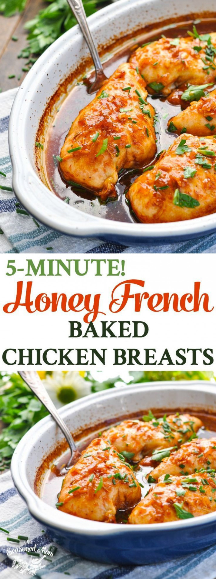 15 Minute Honey French Baked Chicken Breasts - Recipes Ideas With Chicken