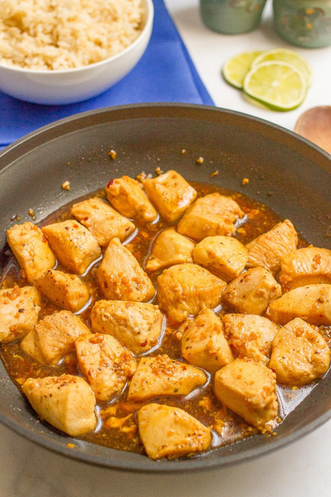 15-minute honey garlic chicken (+ video) - Family Food on ..