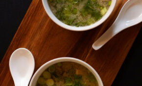 15 Minute Miso Soup With Greens And Tofu | Recipe | Soups ..
