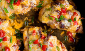 15 Minute Skillet Monterey Chicken – Valerie Bertinelli Recipes Chicken