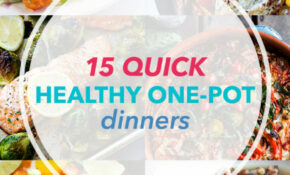 15 One Pot Meals For Quick, Healthy Dinners – Recipes Dinner For One