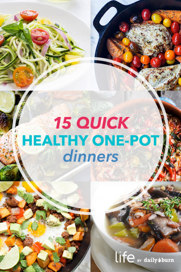 15 One-Pot Meals for Quick, Healthy Dinners - recipes dinner for one