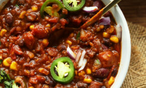 15 Pot Red Lentil Chili – Recipes Kidney Beans Vegetarian