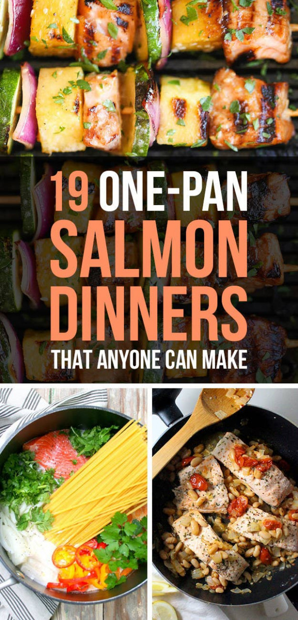 15 Quick And Healthy Salmon Dinners That Anybody Can Make - dinner recipes buzzfeed