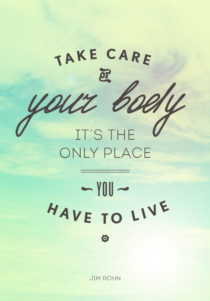 15 quotes to inspire you to get healthy - Troy Gastro - healthy recipes quotes