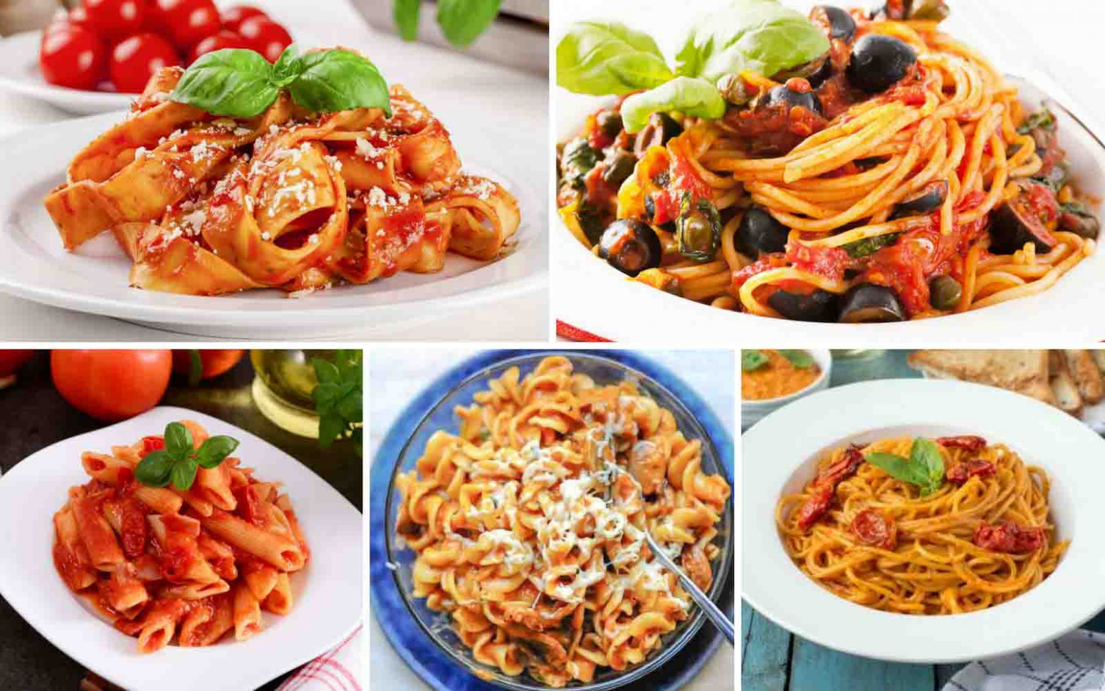 15 Red Sauce Pasta Recipes To Make A Delicious Italian ..