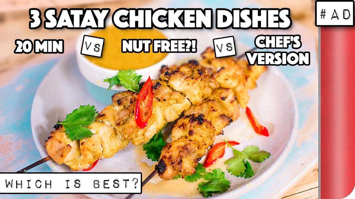 15 Satay Chicken Recipes COMPARED