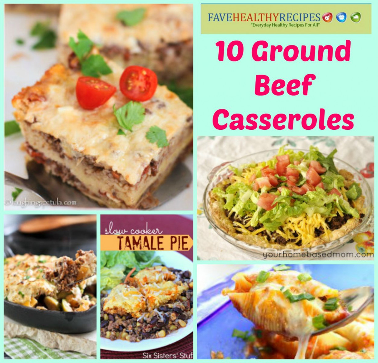 15 Savory Ground Beef Casserole Recipes | FaveHealthyRecipes
