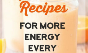 15 Smoothie Recipes For More Energy Every Morning | Yummies ..