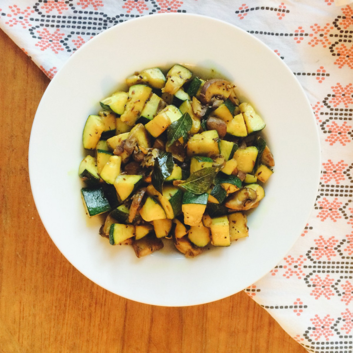 15 Spices & A Veggie, Simple Ayurvedic Stir Fry | Chit.chaat