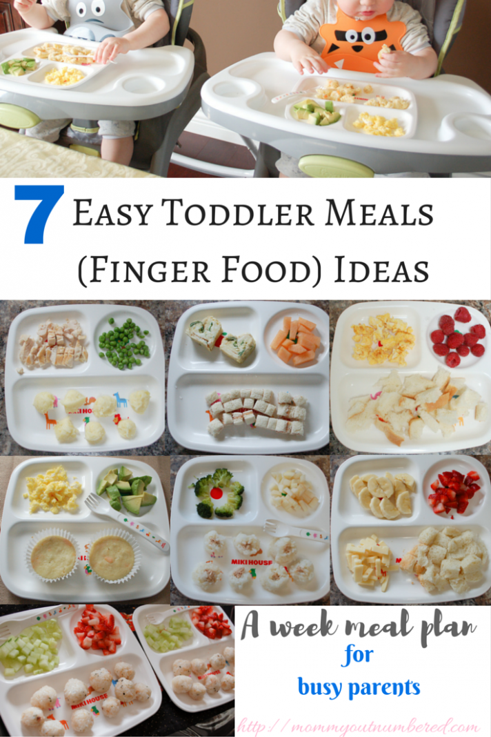 15 Toddler Meal / Baby Finger Food Ideas | Baby food recipes ..