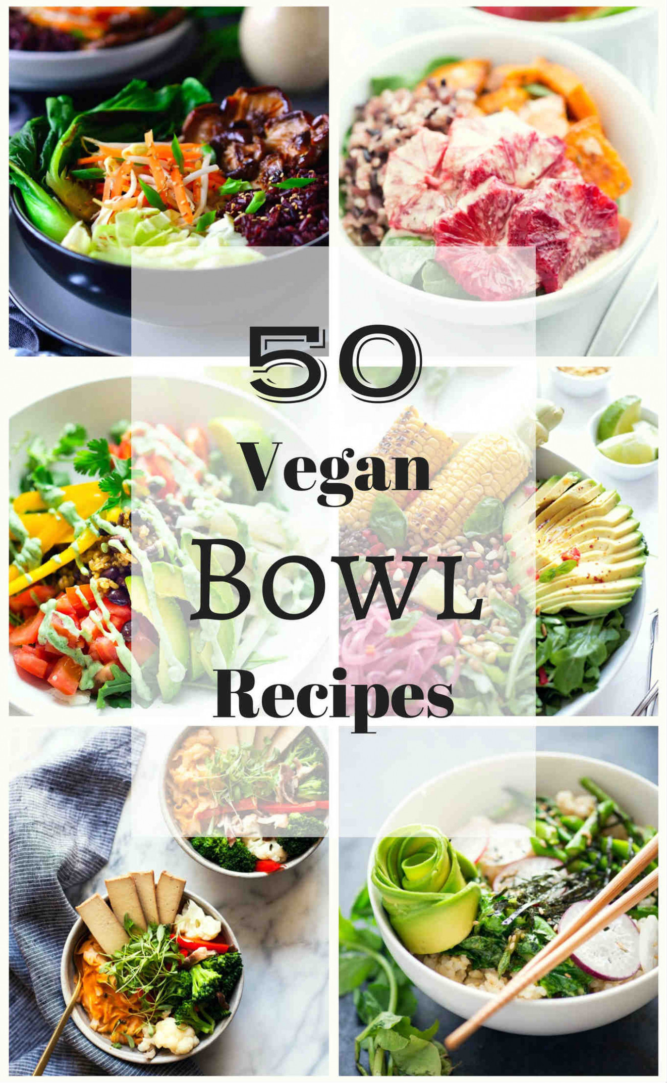 15 Vegan Bowl Recipes | The Stingy Vegan - recipes vegetarian bowls