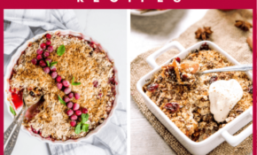 15 Vegan Fruit Crisp And Crumble Recipes – Food Recipes Example