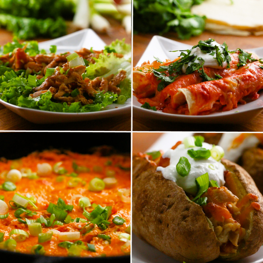 15 Ways to Use Leftover Chicken | Recipes - chicken recipes using cooked chicken