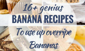16 Delicious Recipes To Use Up Ripe Bananas | Plated Cravings – Healthy Recipes Ripe Bananas