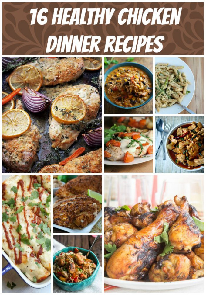 16 Healthy Chicken Recipes | Food Done Light - recipes chicken healthy
