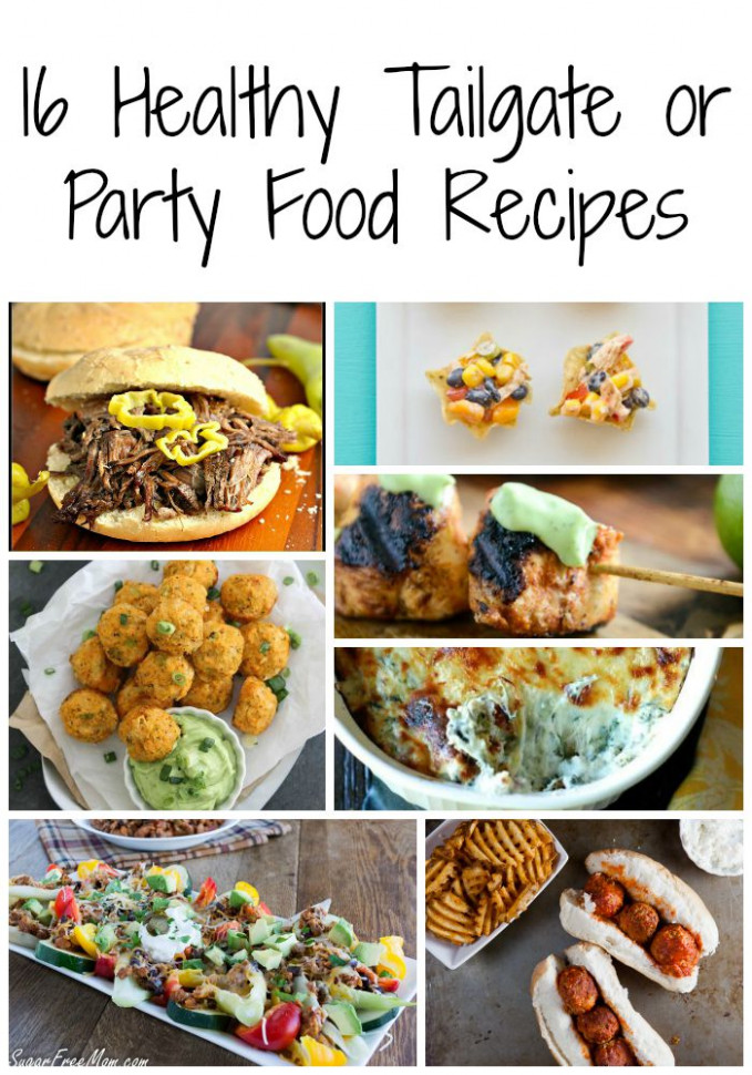 16 Healthy Tailgating and Football Party Recipes | Food ..